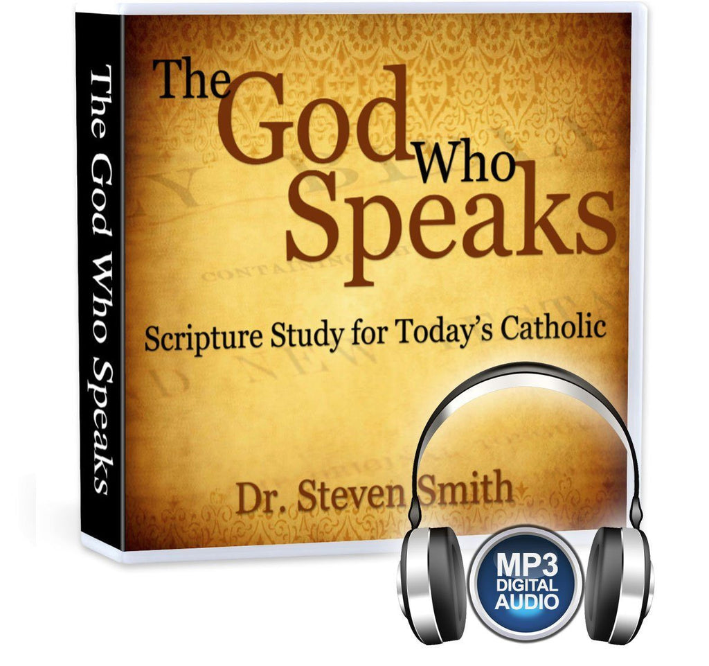 Dr. Steven Smith gives 7 principles for how to study the Bible as a Catholic (MP3).