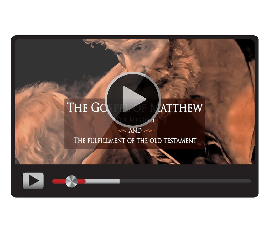The Gospel of Matthew: The Messiah and the Fulfillment of the Old Testament-Catholic Productions
