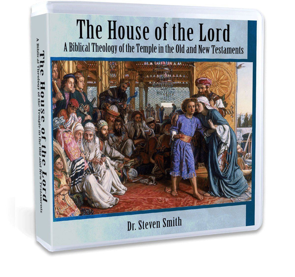 A thorough Bible study on the Temple in the Old and New Testament with Dr. Steven Smith (CD).