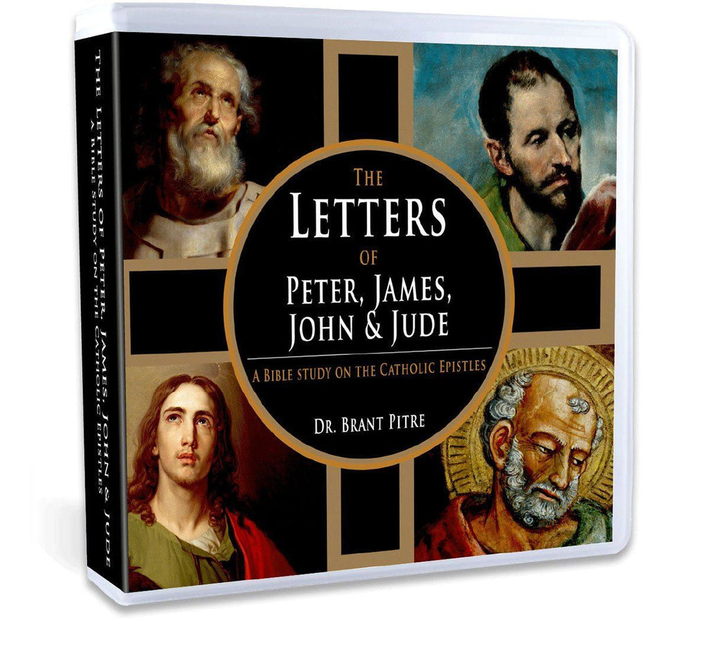 Dr. Brant Pitre takes you through the Catholic Epistles of the New Testament (the epistles of Peter, James, John and Jude) discussing their wisdom, theology and authorship (CD).