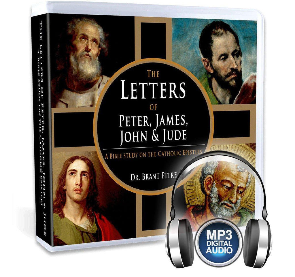 Dr. Brant Pitre takes you through the Catholic Epistles of the New Testament (the epistles of Peter, James, John and Jude) discussing their wisdom, theology and who wrote them (MP3).
