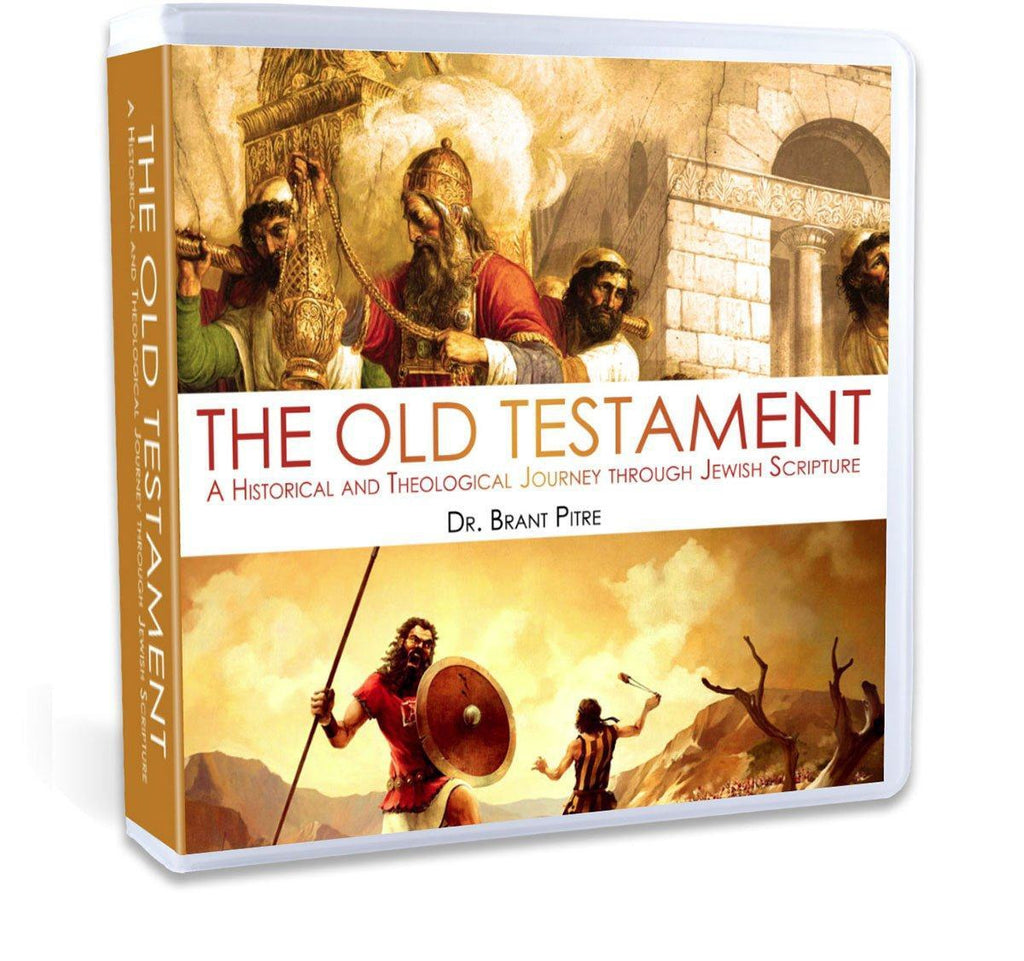 "Discover the world of the Old Testament like never before with Dr. Brant Pitre.  Walk through different books of the Old Testament and topics such as reliability, Holy War, sacrifices, the priesthood, the ""dark passages"" and much more (CD)."