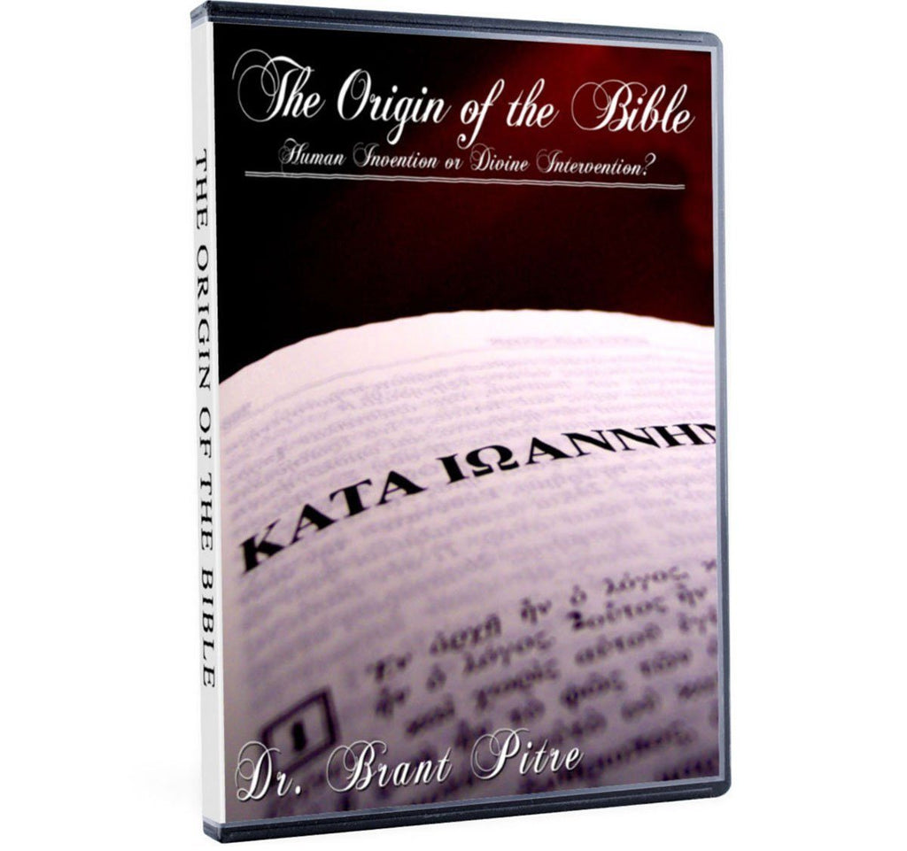 Cover topics in this Bible study with Dr. Brant Pitre such as: How did we get the Bible?  What authority declared which books went into sacred scripture and which did not?  What happened at the Protestant Reformation to the canon of scripture? (DVD)