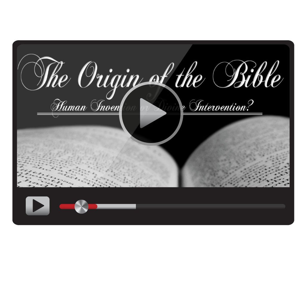 The Origin of the Bible: Human Invention or Divine Intervention?-Catholic Productions
