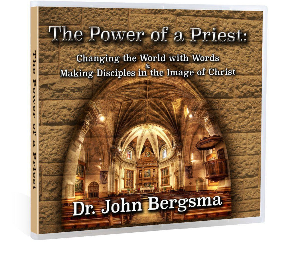 Discover the purpose behind the priesthood established by Jesus in the words of Sacred Scripture with Dr. John Bergsma (CD).