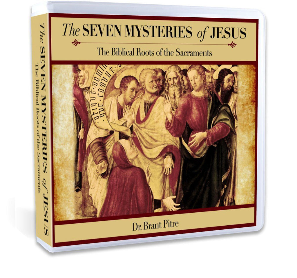 Dr. Brant Pitre gives you an invigorating and complete Bible study on the seven sacraments in the Bible: Baptism, Eucharist, Confession, Confirmation, Anointing of the Sick, Holy Matrimony, Holy Orders [Priesthood] (CD).