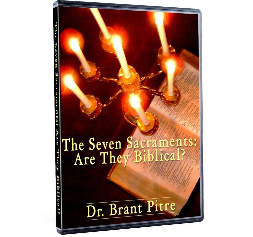 Dr. Brant Pitre gives an information packed 2 hour presentation on the Biblical foundation of the seven sacraments in Scripture (DVD).