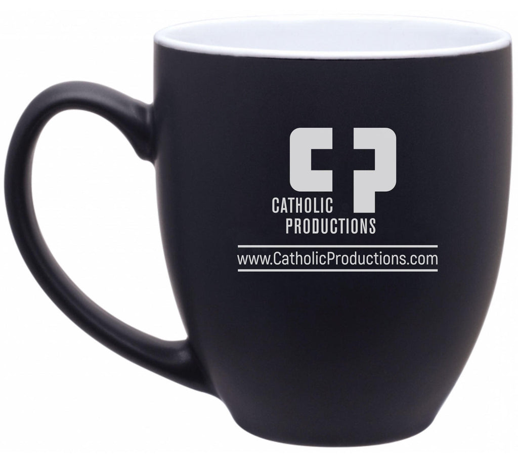 Catholic Productions Bistro Coffee Mug