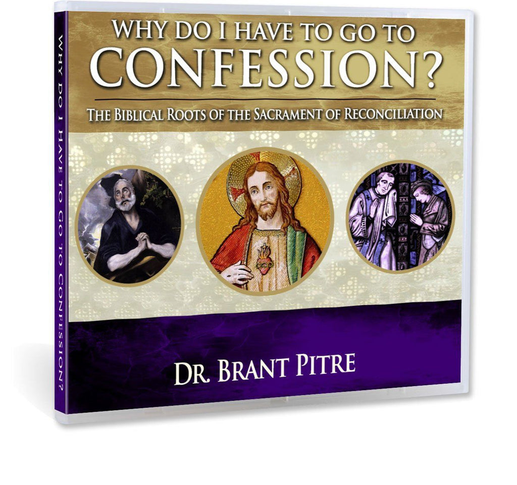 In this Bible study with Dr. Brant Pitre, you'll understand why the Catholic Church teaches that we need to go to the sacrament of confession: Ultimately, because Jesus said so (CD).