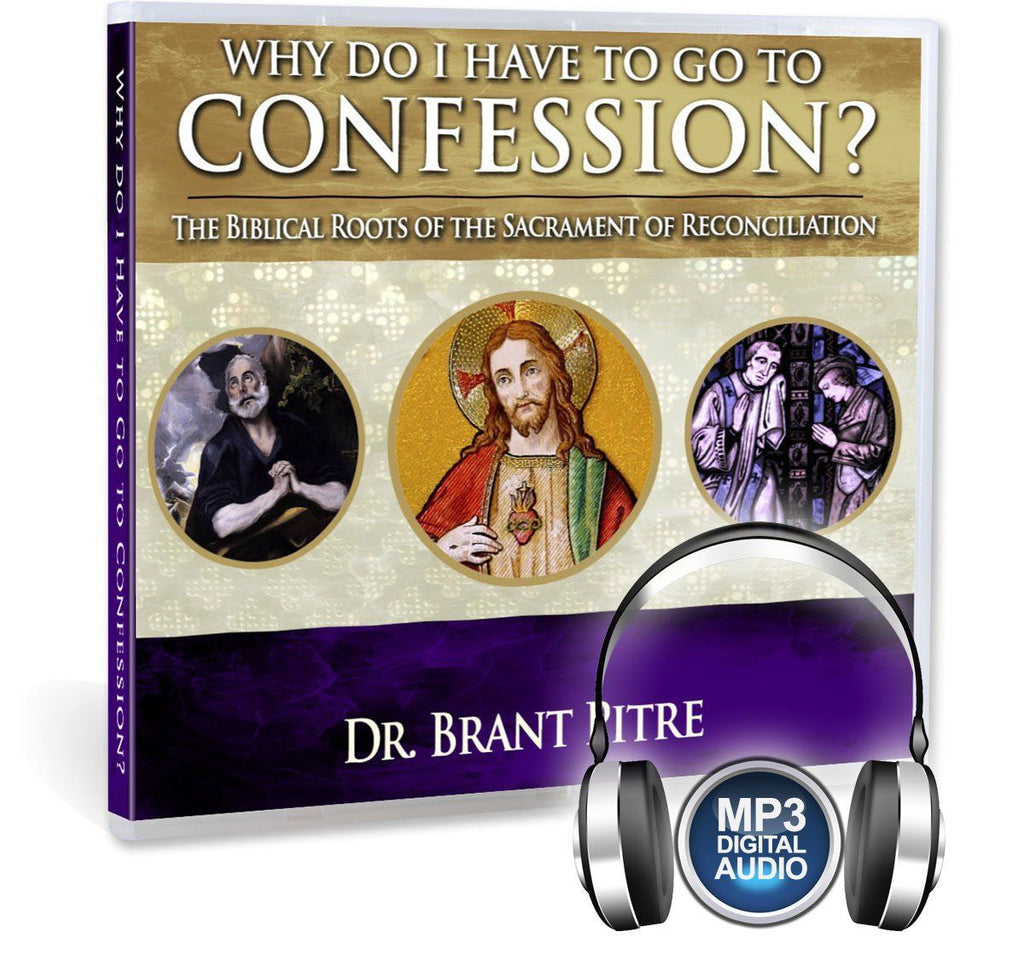 In this Bible study with Dr. Brant Pitre, you'll understand why the Catholic Church teaches that we need to go to the sacrament of confession: Ultimately, because Jesus said so (MP3).