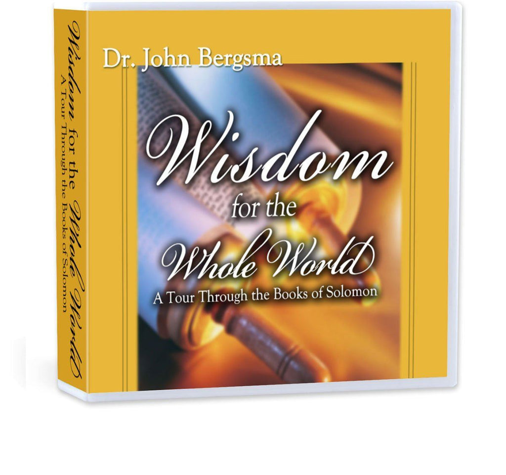 Dr. John Bergsma walks you through the Wisdom Literature of the Old Testament (Proverbs, Ecclesiastes, Song of Songs, Job, Wisdom and Sirach) and shows why they're relevant for Catholics today (CD).