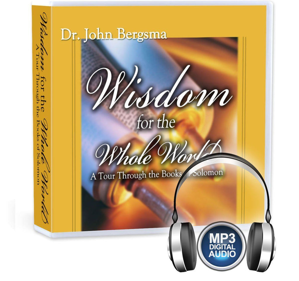 Dr. John Bergsma walks you through the Wisdom Literature of the Old Testament (Proverbs, Ecclesiastes, Song of Songs, Job, Wisdom and Sirach) and shows why they're relevant for Catholics today (MP3).