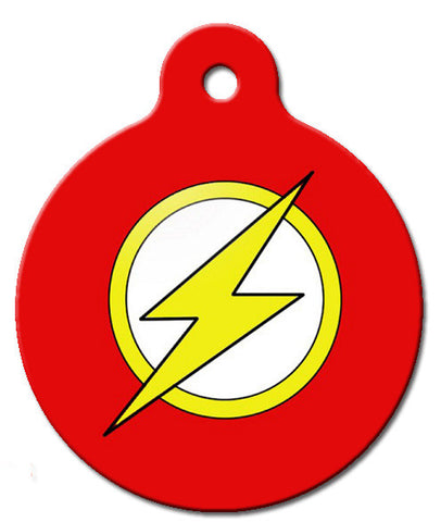 Flash Dog ID Tag - Wag-A-Tude Tags