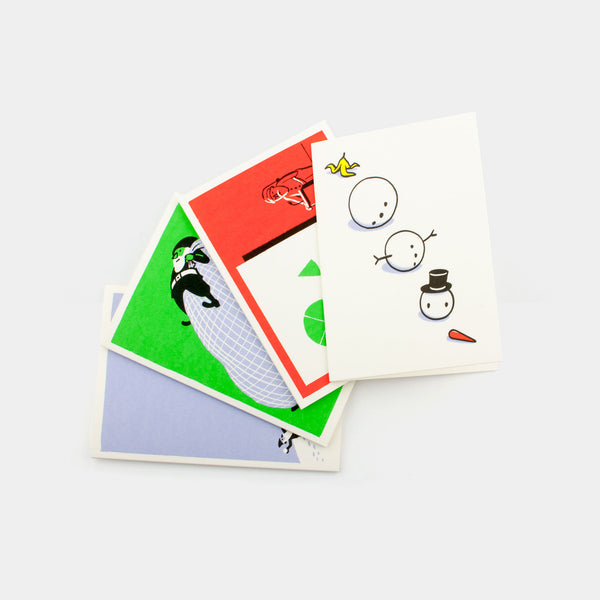 Greeting Cards - Pack of four