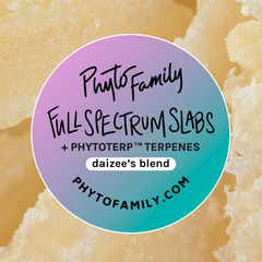 Full Spectrum Slabs With Strain-Specific Terpenes - Daizee's Mix