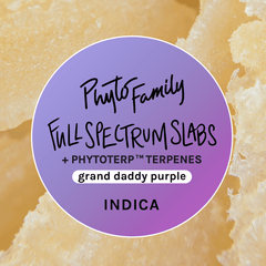 Full Spectrum Slabs With Strain-Specific Terpenes - Grand Daddy Purple