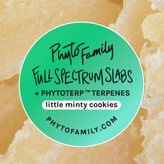 Full Spectrum Slabs With Strain-Specific Terpenes - Little Minty Cookies