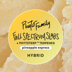 Full Spectrum Slabs With Strain-Specific Terpenes - Pineapple Express