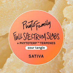 Full Spectrum Slabs With Strain-Specific Terpenes - Sour Tangie