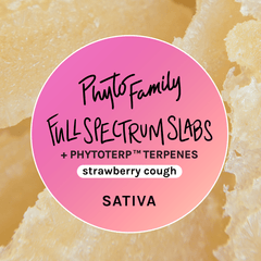 Full Spectrum Slabs With Strain-Specific Terpenes - Strawberry Cough