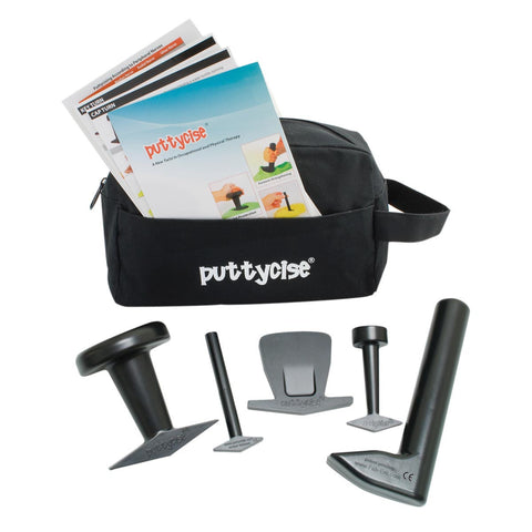 Puttycise 5 Piece Tool Set with Carry Bag and Cards - SelfCareCentral - CanDo