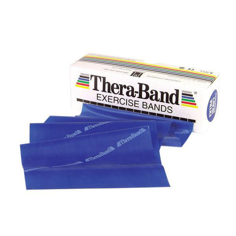 Thera-Band 6 Yard Roll, Blue Extra Heavy - SelfCareCentral - Thera-Band