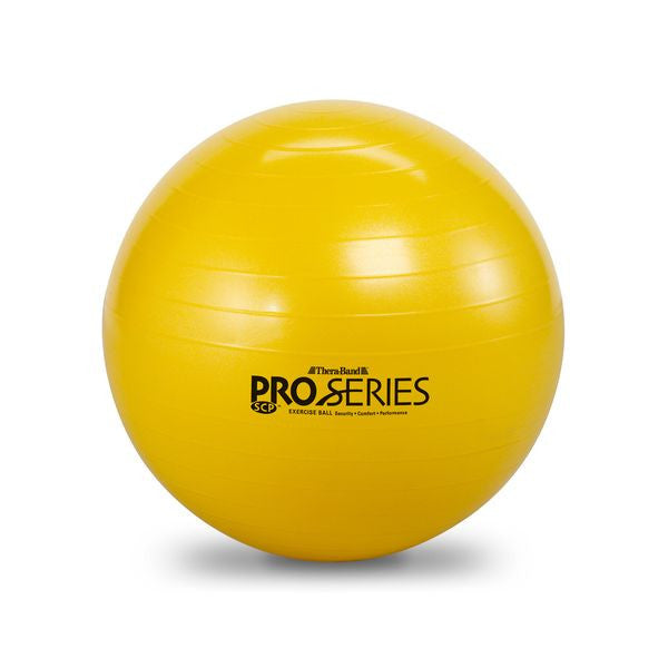 Thera-Band Pro Series Slow-Deflate Exercise Balls 45 cm Yellow - SelfCareCentral - Thera-Band