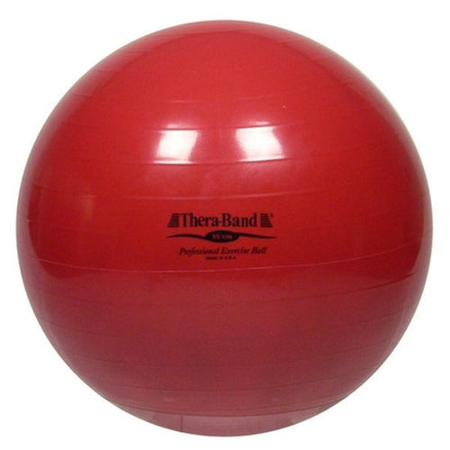 Thera-Band Exercise Ball 55 cm Red - SelfCareCentral - Thera-Band