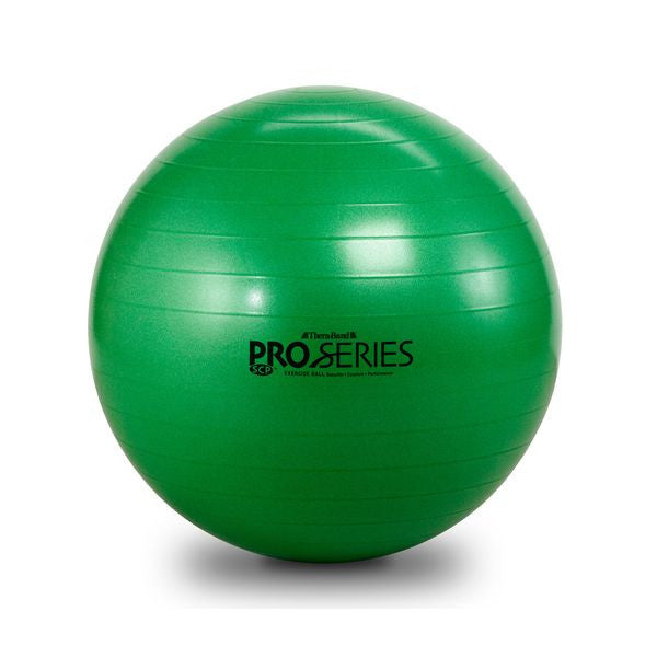 Thera-Band Pro Series Slow-Deflate Exercise Ball 65 cm Green - SelfCareCentral - Thera-Band