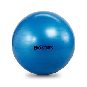Thera-Band Pro Series Slow-Deflate Exercise Balls 75 cm Blue - SelfCareCentral - Thera-Band