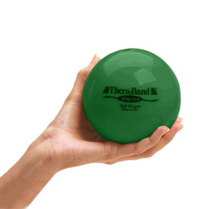Thera-Band Soft Weights Green 4.4 lbs (2.0 kg) - SelfCareCentral - Thera-Band