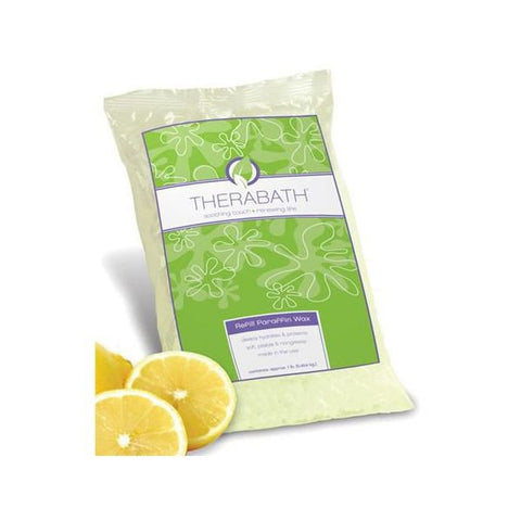 Therabath Paraffin Refill Wax 6 lbs Fresh Squeezed Lemon - SelfCareCentral - Therabath