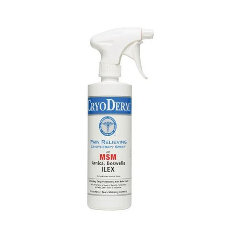 Cryoderm Pain Relief 16 oz Sprayer - SelfCareCentral - CryoDerm