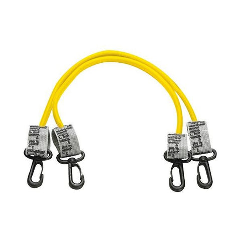 "Thera-Band Tubing with Connectors 18"" Yellow - SelfCareCentral - Thera-Band"