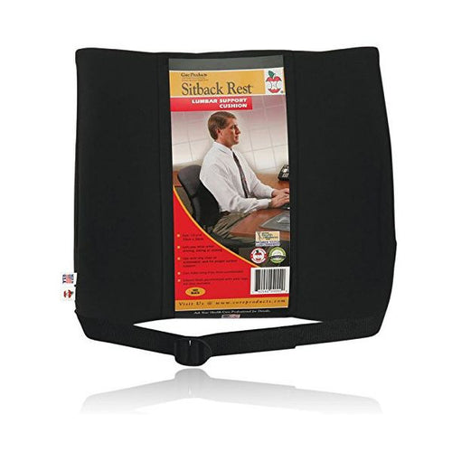 Sitback Rest Standard, Black - SelfCareCentral - Core Products