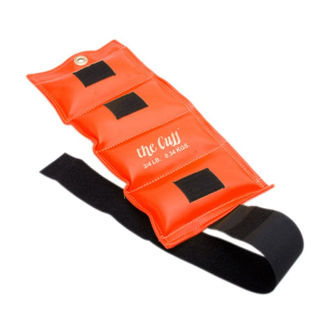 The Original Cuff Weight 0.75 lbs Orange - SelfCareCentral - CanDo
