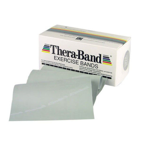 Thera-Band 6 Yard Roll, Silver Super Heavy - SelfCareCentral - Thera-Band