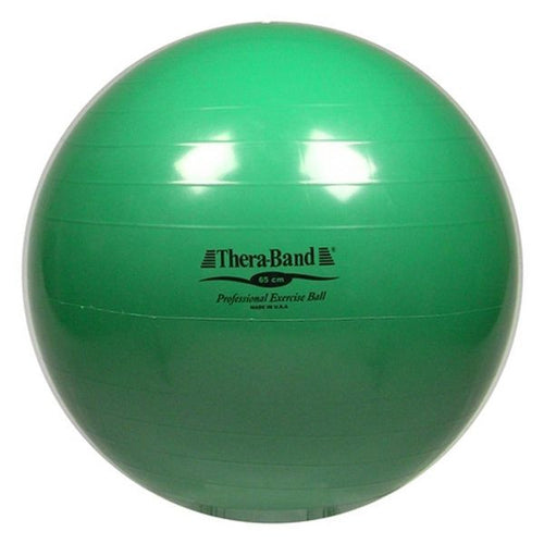 Thera-Band Exercise Ball 65 cm Green - SelfCareCentral - Thera-Band
