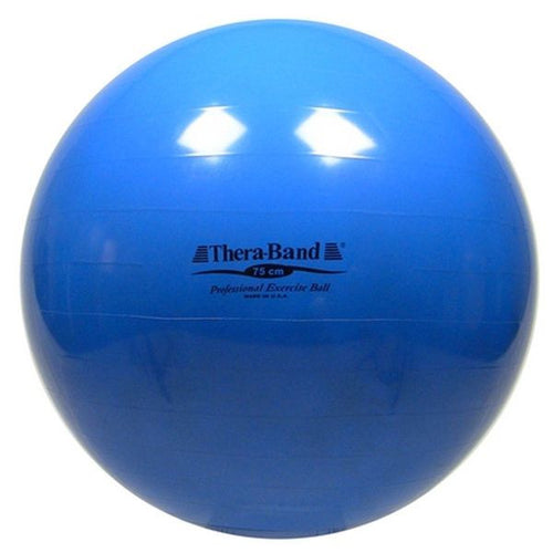 Thera-Band Exercise Ball 75 cm Blue - SelfCareCentral - Thera-Band