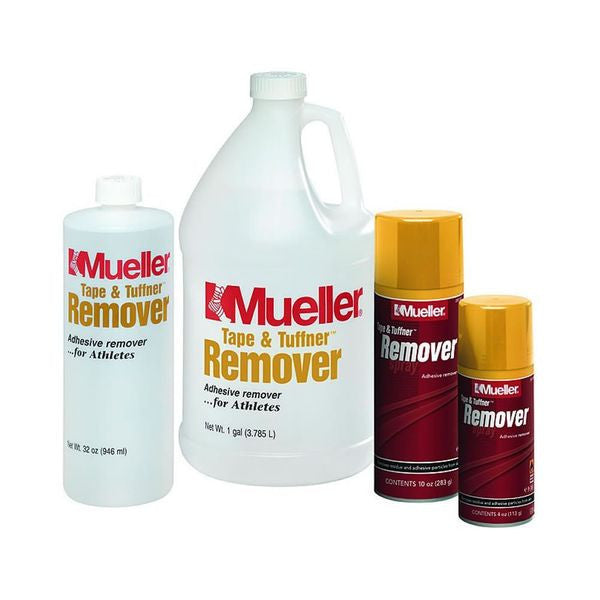 Tape and Tuffner Remover Quart Liquid - SelfCareCentral - Mueller