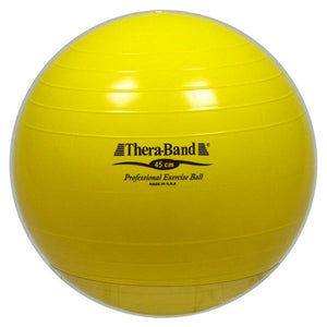 Thera-Band Exercise Ball 45 cm Yellow - SelfCareCentral - Thera-Band