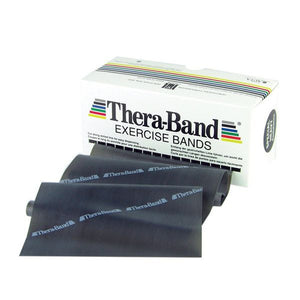 Thera-Band 6 Yard Roll, Black Special Heavy - SelfCareCentral - Thera-Band