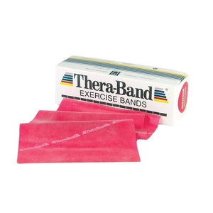 Thera-Band 6 Yard Roll, Red Medium - SelfCareCentral - Thera-Band
