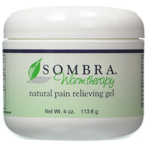 Sombra Original Warm Therapy 4 oz Jar - SelfCareCentral - Sombra