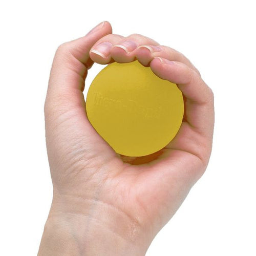 Thera-Band Hand Exerciser Yellow Extra Soft - SelfCareCentral - Thera-Band