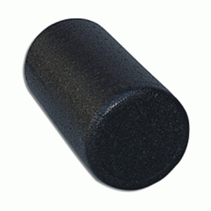 "Black High Density Foam Roller 6"" x 12"" - SelfCareCentral - Elgin"
