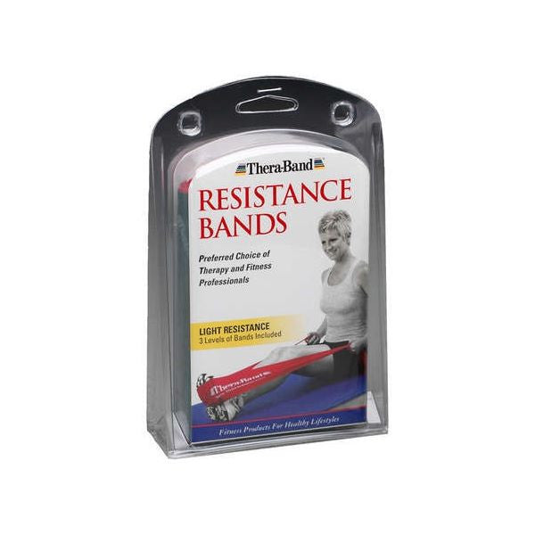 Thera-Band Multi-Band Patient Pack, Light - SelfCareCentral - Thera-Band