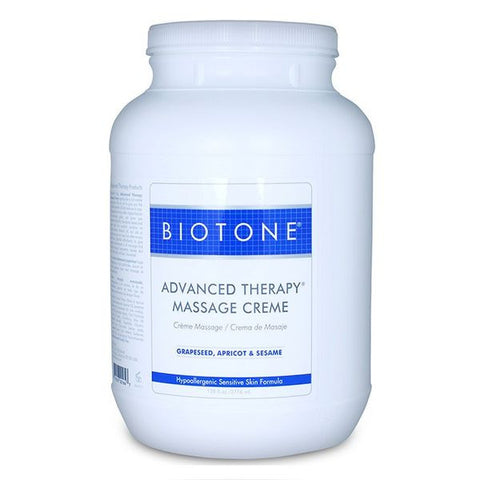 Biotone Advanced Therapy Massage Creme 1 Gallon - SelfCareCentral - Biotone