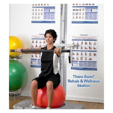Thera-Band Rehab and Wellness Station - SelfCareCentral - Thera-Band