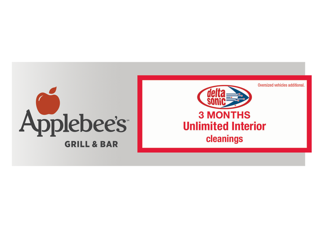 3 Months Unlimited Interior Cleanings and FREE Dinner at Applebee's